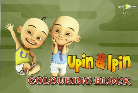COLOURING BLOCK UPIN IPIN 11 - SERIES 1