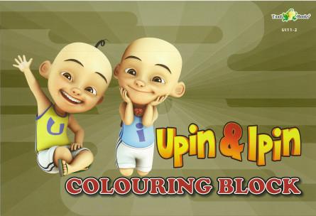 COLOURING BLOCK UPIN IPIN 11 - SERIES 2