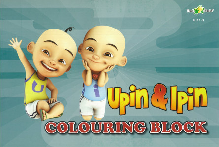 COLOURING BLOCK UPIN IPIN 11 - SERIES 3
