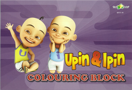 COLOURING BLOCK UPIN IPIN 11 - SERIES 4