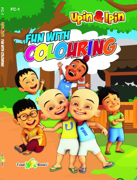UPIN IPIN FUN WITH COLOURING