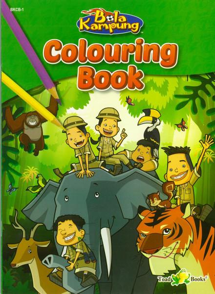 COLOURING BOOK BOLA KAMPUNG - SERIES 1