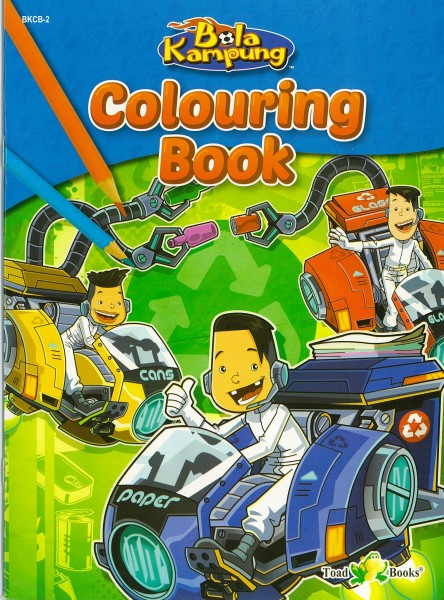 COLOURING BOOK BOLA KAMPUNG - SERIES 2