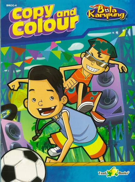 COPY AND COLOUR BOLA KAMPUNG - SERIES 4