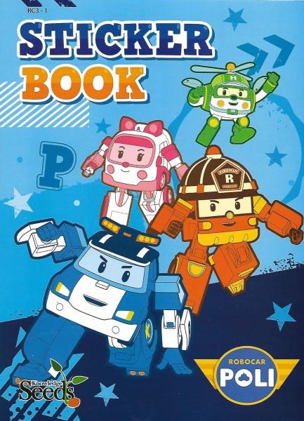 ROBOCAR POLI STICKER BOOK RC - SERIES 1