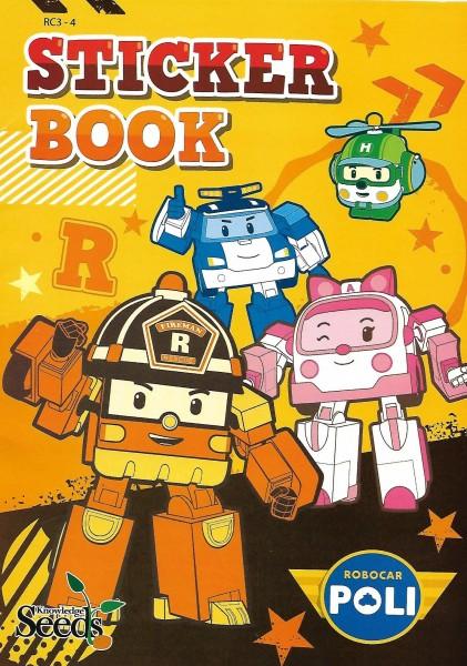 ROBOCAR POLI STICKER BOOK - SERIES 4