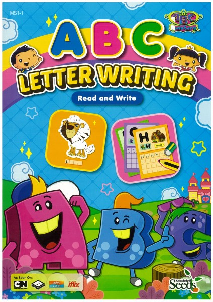 ABC MONSTERS LETTER WRITING ABC MS1 - SERIES `