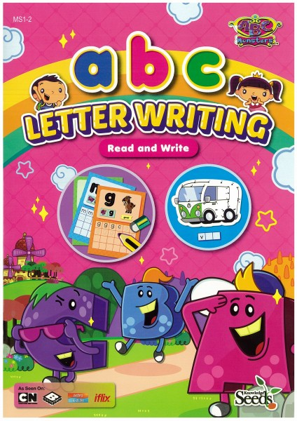 ABC MONSTERS LETTER WRITING abc MS1 - SERIES 2