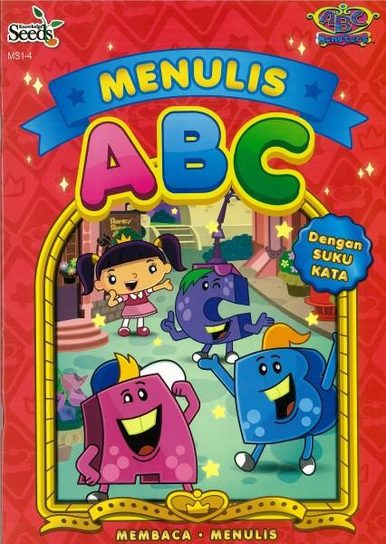 ABC MONSTERS MENULIS ABC MS1 - SERIES 4