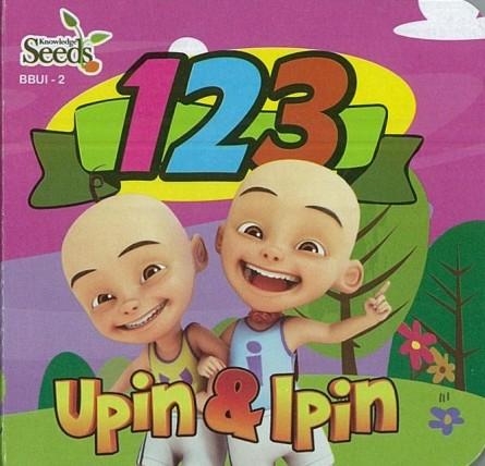 UPIN & IPIN BABY BOARD 123 BBUI - SERIES 2
