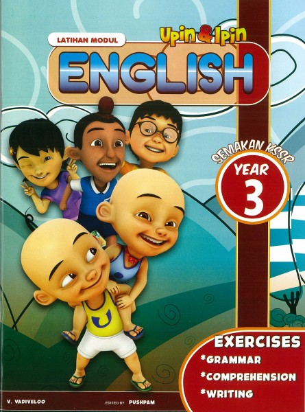 UPIN & IPIN LATIHAN MODUL ENGLISH - YEAR 3