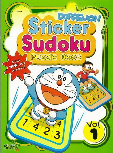 DORAEMON STICKER SUDOKU PUZZLE BOOK DRS - VOLUME 1