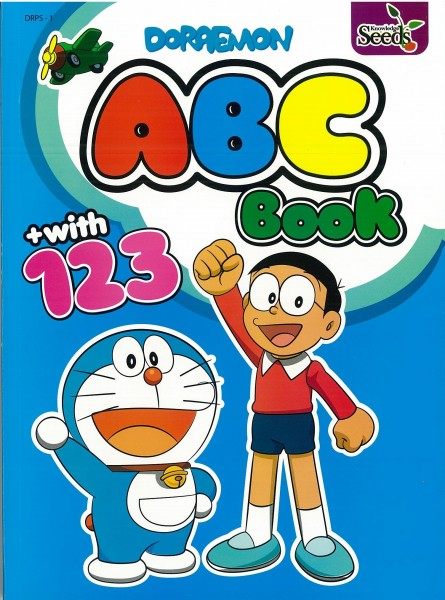 DORAEMON ABC BOOK + WITH 123 DRPS - SERIES 1