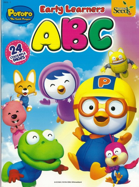 PORORO EARLY LEARNERS ABC PR EL - SERIES 1