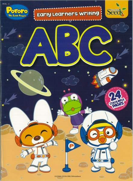 PORORO EARLY LEARNERS WRITING ABC PR EL - SERIES 3