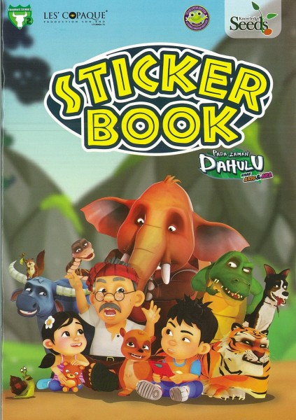 PADA ZAMAN DAHULU STICKER BOOK TAURUS - SERIES 2