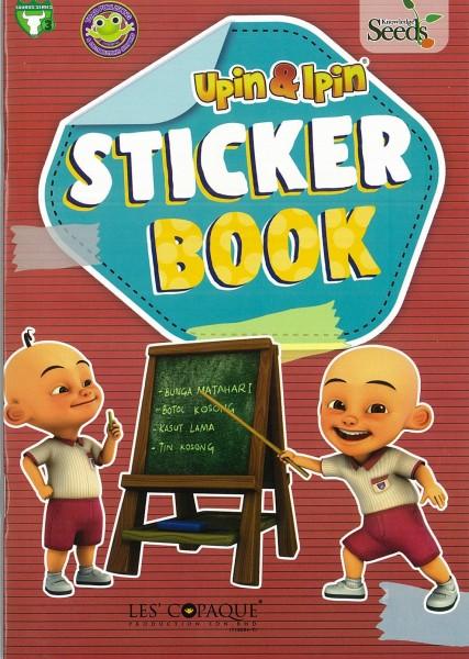 UPIN & IPIN STICKER BOOK TAURUS - SERIES 3