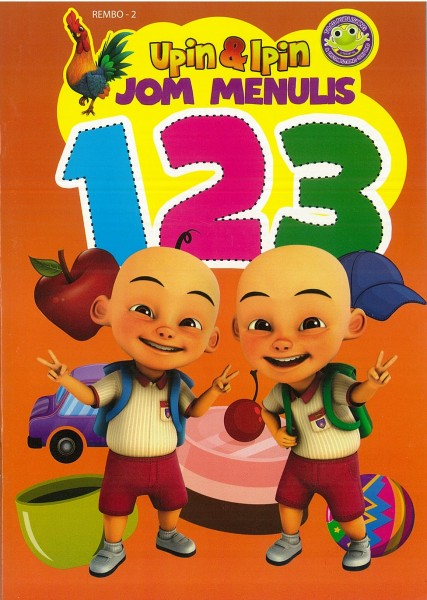 UPIN & IPIN JOM MENULIS 123 REMBO - SERIES 2