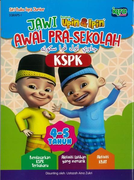UPIN & IPIN JAWI AWAL PRA-SEKOLAH IQRAPS - SERIES 1