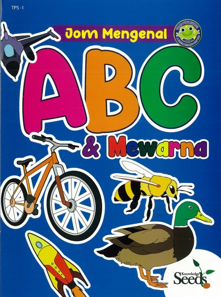 TOAD JOM MENGENAL ABC & MEWARNA - SERIES 1