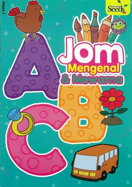 TOAD JOM MENGENAL & MEWARNA ABC TPSA5 - SERIES 1