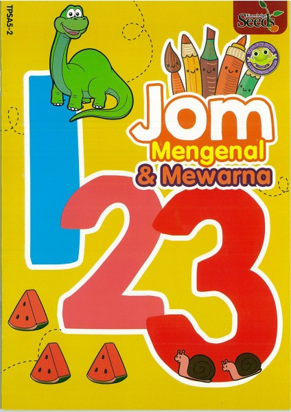 TOAD JOM MENGENAL & MEWARNA 123 TPSA5 - SERIES 2