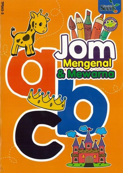 TOAD JOM MENGENAL & MEWARNA abc TPSA5 - SERIES 3