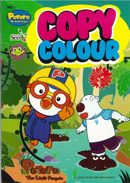 PORORO COPY COLOUR PRCC - SERIES 1