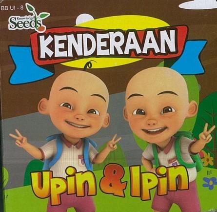 UPIN & IPIN BABY BOARD KENDERAAN BB UI - SERIES 8