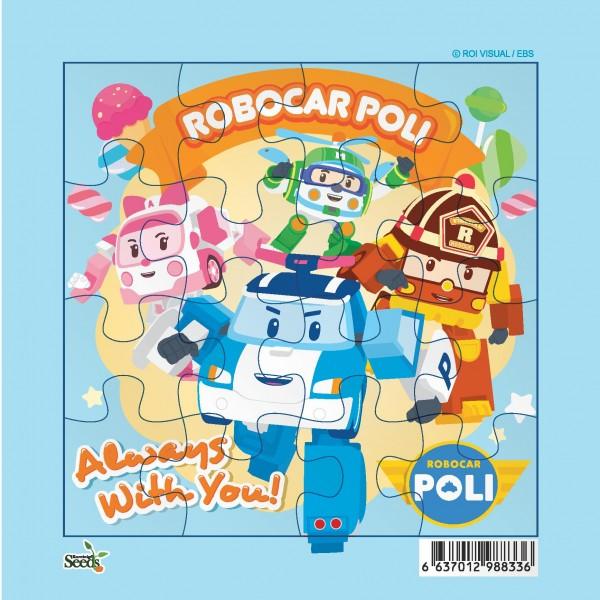 ROBOCAR POLI SQUARE PUZZLE SMALL PZS  - RCP 1