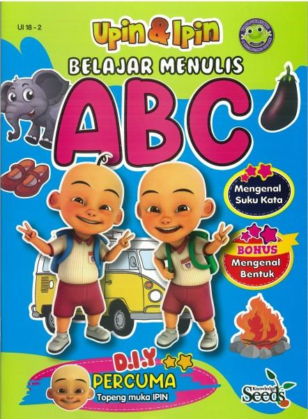 UPIN & IPIN BELAJAR MENULIS ABC UI 18 - SERIES 2