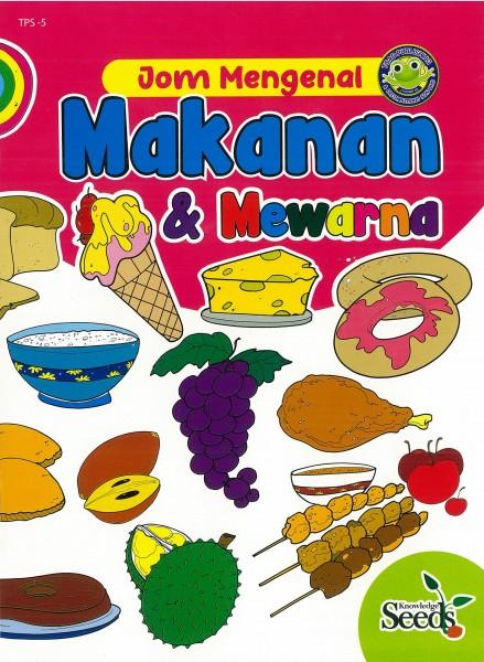 JOM MENGENAL MAKANAN & MEWARNA TPS - SERIES 5