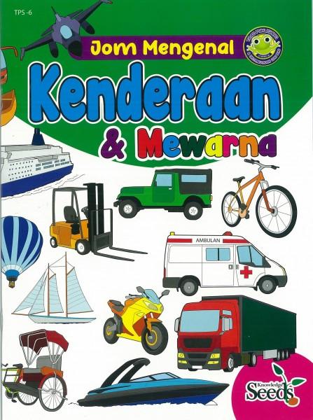 JOM MENGENAL KENDERAAN & MEWARNA TPS - SERIES 6