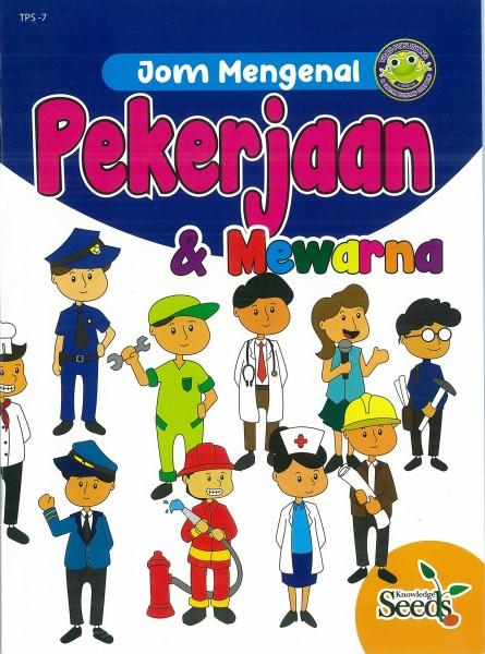 JOM MENGENAL PEKERJAAN & MEWARNA TPS - SERIES 7