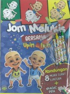 UPIN & IPIN JOM MELUKIS + MAGIC PEN ECO KM UI - SERIES 1