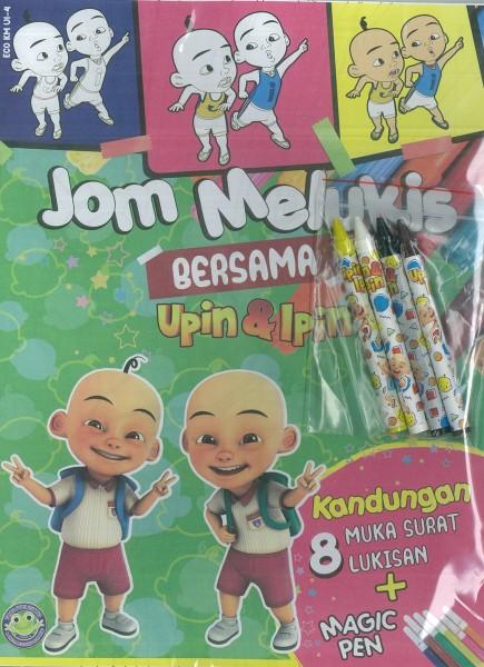 UPIN & IPIN JOM MELUKIS + MAGIC PEN ECO KM UI - SERIES 4