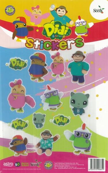 DIDI & FRIENDS STICKER - 1 ( YELLOW )