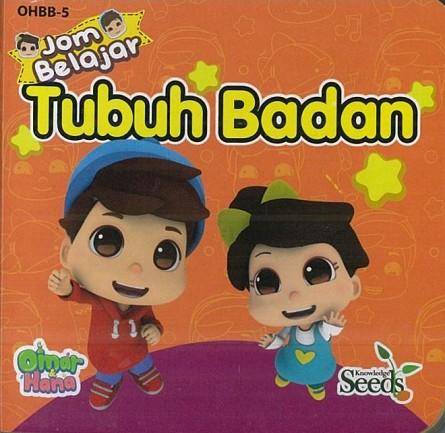OMAR & HANA BABY BOARD TUBUH BADAN OHBB - SERIES 5