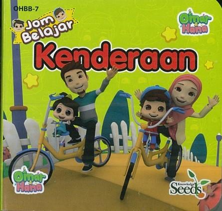 OMAR & HANA BABY BOARD KENDERAAN OHBB - SERIES 7