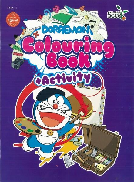 DORAEMON COLOURING BOOK + ACTIVITY DRA - SERIES 1
