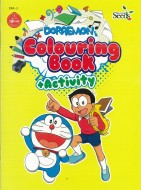 DORAEMON COLOURING BOOK + ACTIVITY DRA - SERIES 3