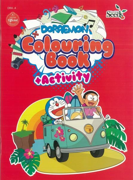 DORAEMON COLOURING BOOK + ACTIVITY DRA - SERIES 4