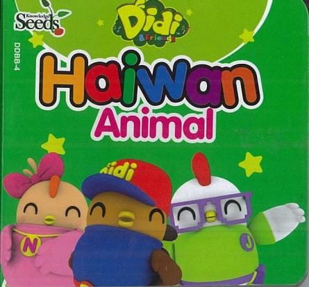 DIDI & FRIENDS BABY BOARD HAIWAN DDBB - SERIES 4