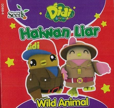 DIDI & FRIENDS BABY BOARD MAKANAN HAIWAN LIAR - SERIES 8