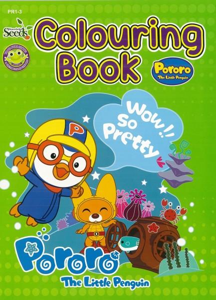 PORORO COLOURING BOOK PR1 - SERIES 3