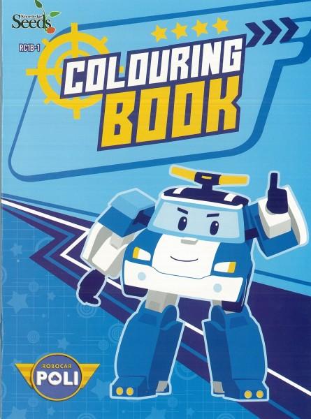 ROBOCAR POLI COLOURING BOOK RC1B - SERIES 1