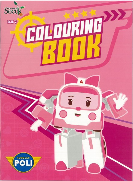 ROBOCAR POLI COLOURING BOOK RC1B - SERIES 2