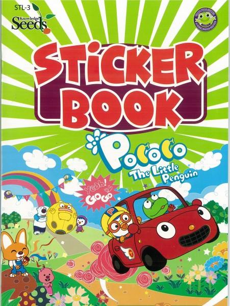 PORORO STICKER BOOK STL - SERIES 3