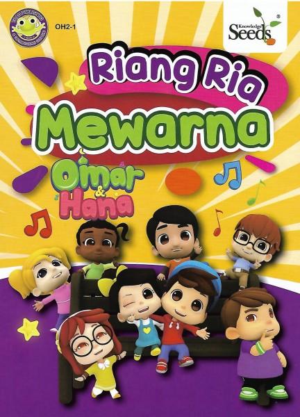 Omar & Hana Riang Ria Mewarna OH2 + 12 Colour Pencils - Series 1