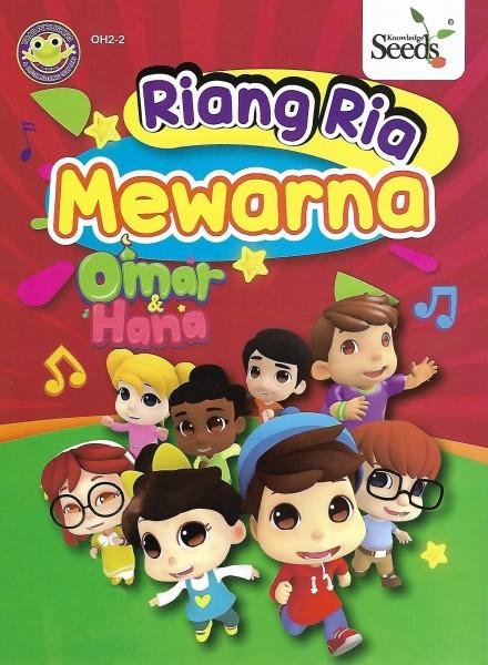 Omar & Hana Riang Ria Mewarna OH2 + 12 Colour Pencils - Series 2